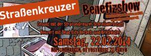 Flyer - Dead City Rockets - Strassenkreuzer - Kopf und Kragen - 2014