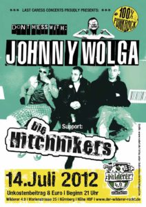 Flyer - Die Hitchhikers - Wilderer 49 - 2012