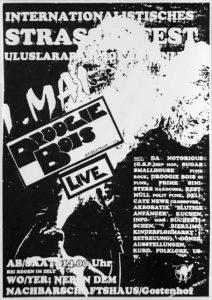 Flyer - Droogie Bois - Strassenfest Gostenhof - 1993