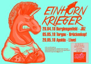 Flyer - Einhorn Krieger - 2018