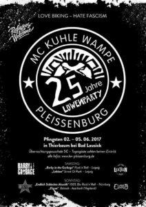 Flyer - Endlich schlechte Akustik - Pleissenburg - 2017