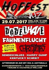Flyer - Endlich schlechte Musik - Burglengenfeld - 2017
