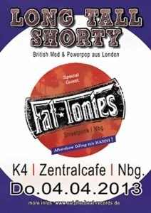 Flyer - Fat Tonies - K4 - 2013