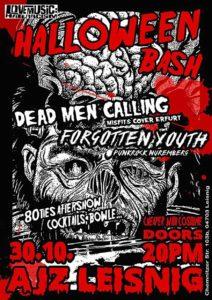 Flyer - Forgotten Youth - Leisnig - 2016