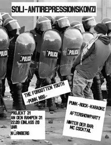 Flyer - Forgotten Youth - Projekt 31 - 2016