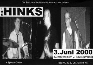 Flyer - Hinks - Kunstverein - 2000