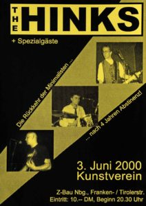 Flyer - Hinks - Kunstverein - 2000
