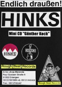 Flyer - Hinks - Günther Koch - CD - Rough Beat