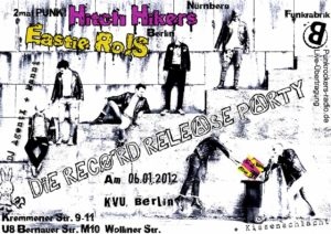 Flyer - Hitchhikers - Berlin - 2012