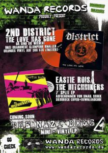 Flyer - Hitchhikers - EP Release - 2011