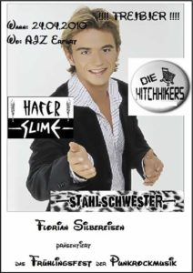 Flyer - Hitchhikers - Erfurt - 2010