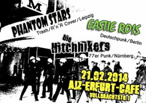 Flyer - Hitchhikers - Erfurt - 2014