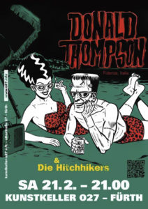 Flyer - Hitchhikers - Kunstkeller - 2014