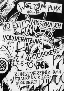 Flyer - Hitchhikers - Kunstverein - 2010