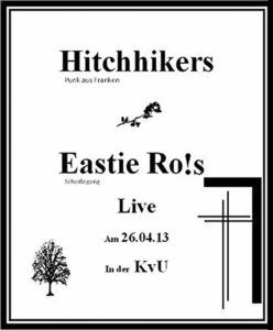Flyer - Hitchhikers - KvU - 2013
