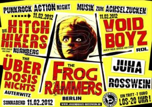 Flyer - Hitchhikers - Rosswein - 2012