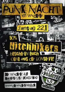 Flyer - Hitchhikers - Wilderer 49 - 2012