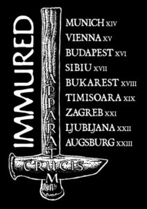 Flyer - Immured - Tour