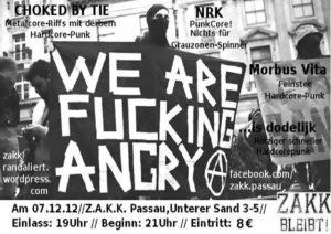 Flyer - Is Dodelijk - Passau - 2012