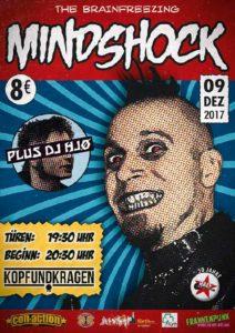 Flyer - Mindshock - Kopf und Kragen - 2017