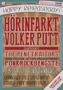 Flyer - Penetraitors - Berlin - 2014