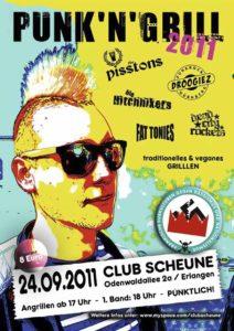 Flyer - Punk n Grill - Scheune - 2011