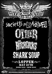 Flyer - Shark Soup - Punk And Billy Bash - 2008