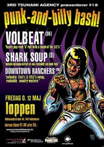 Flyer - Shark Soup - Punk And Billy Bash - 2009