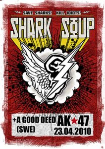 Flyer - Shark Soup - Schweden - 2010