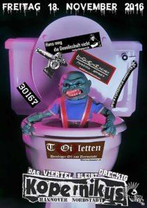 Flyer - TOiletten - Hannover - 2016