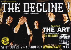 Flyer - The Art - Zentralcafe - 2017