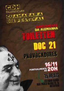 Flyer - Toiletten - Brasilien - 2016