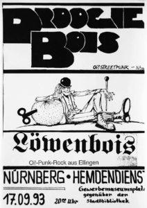 Poster - Droogie Bois - Hemdendienst - 1993