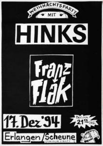 Poster - Hinks - Franz Flak - 1994