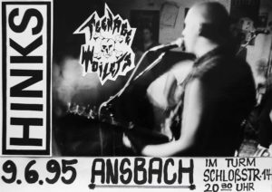 Poster - Hinks - Teenage Toilets - Ansbach - 1995