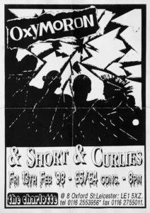 Poster - Oxymoron - Charlotte - UK - 1998