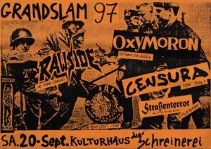 Poster - Oxymoron - Grandslam - 1997