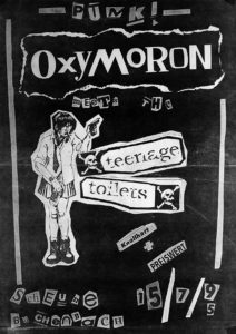 Poster - Oxymoron - Teenage Toilets - Scheune - 1995