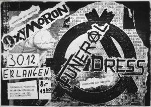 Poster - Oxmoron - Scheune - Erlangen - 1993