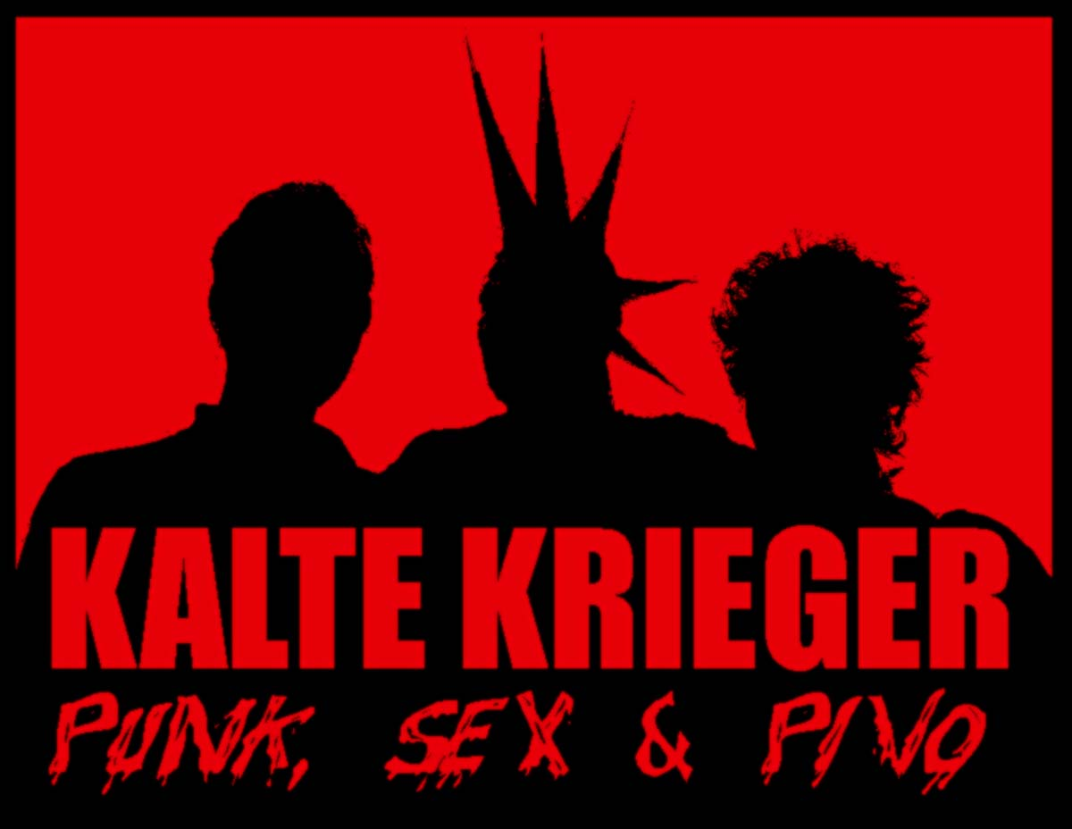 Sticker - Kalte Krieger - Punk Sex Pivo