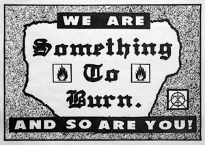 Sticker - Something To Burn