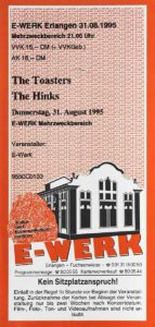 Ticket - Hinks - E-Werk - 1995
