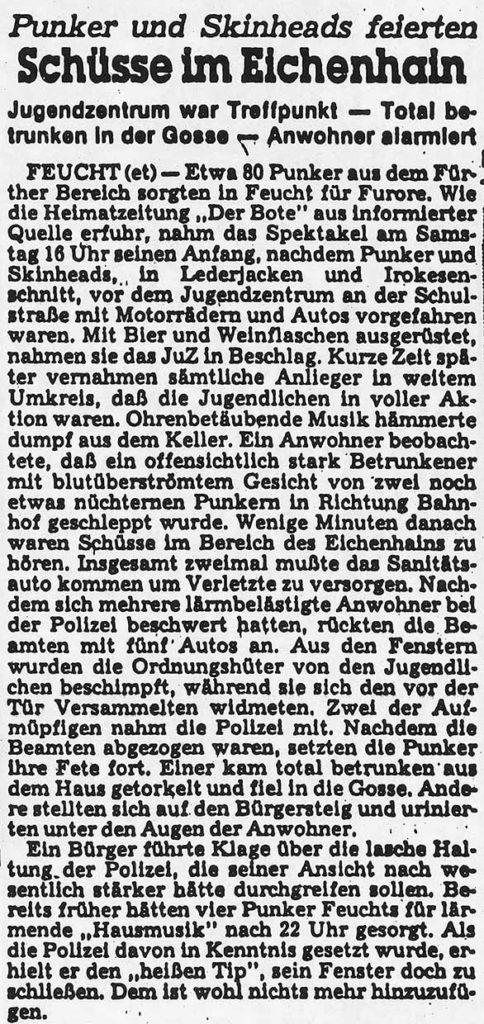 Der 7. Versuch - Schüsse im Eichenhain Bote - 1984