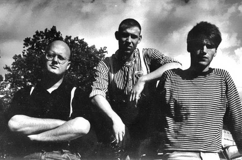 The Cockroaches - Franz - arne - Stefan - 1990