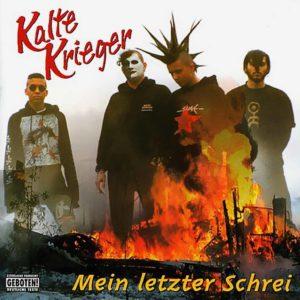 Kalte Krieger- Mein letzter Schrei - CD - 1998
