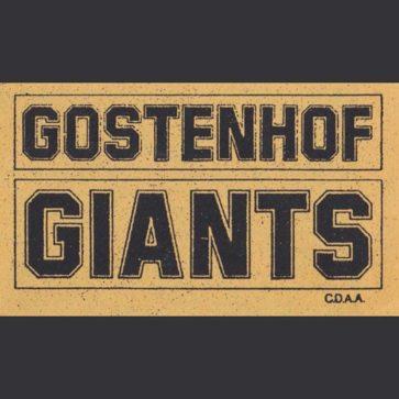 Gostenhof Giants - CDAA - Kassette - 1989